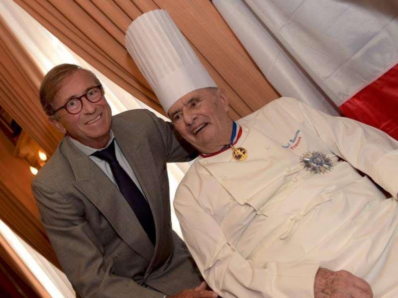 Jean-Paul Lacombe et Paul Bocuse