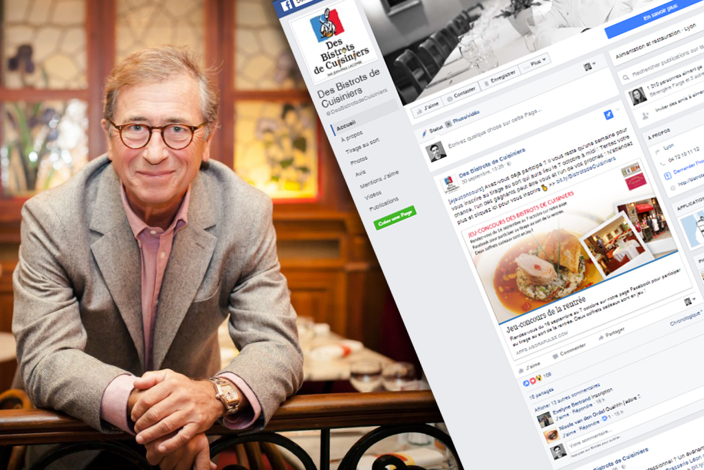Facebook Bistrots de Cuisiniers