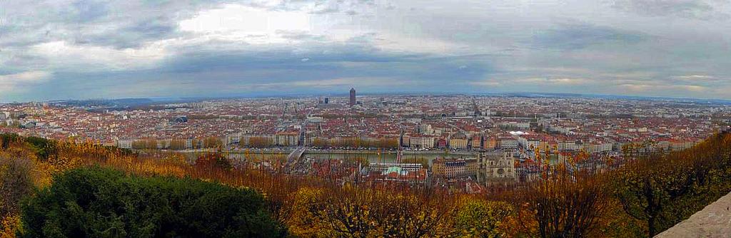 Lyon en automne