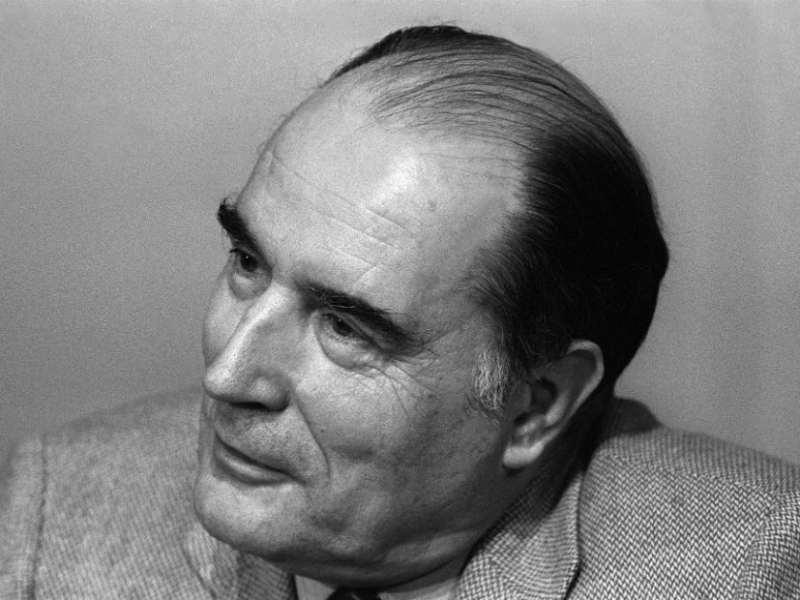 Portrait de François Miterrand